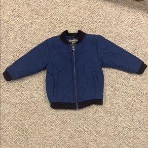 9-12 month OshKosh B'gosh quilted bomber jacket